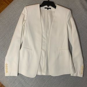 Theory open jacket in white